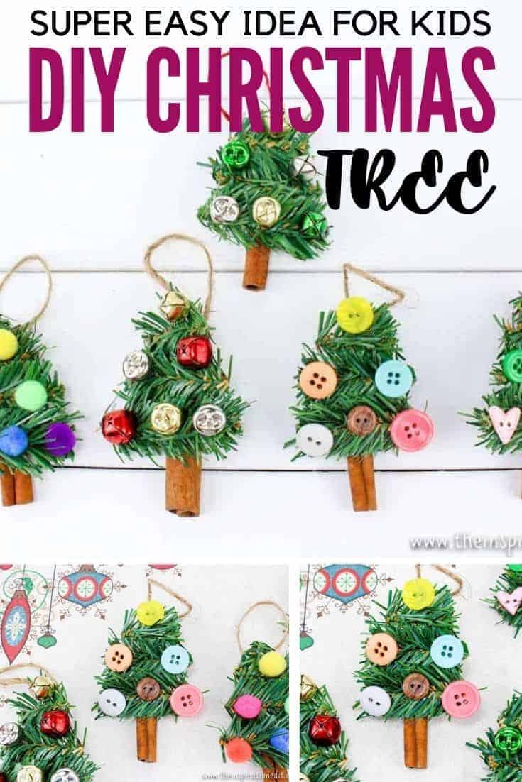 easy diy christmas tree craft