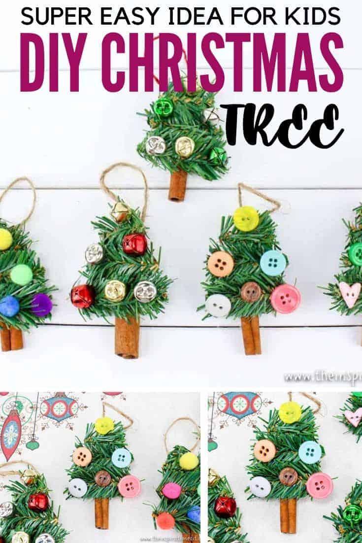 easy diy christmas tree craft