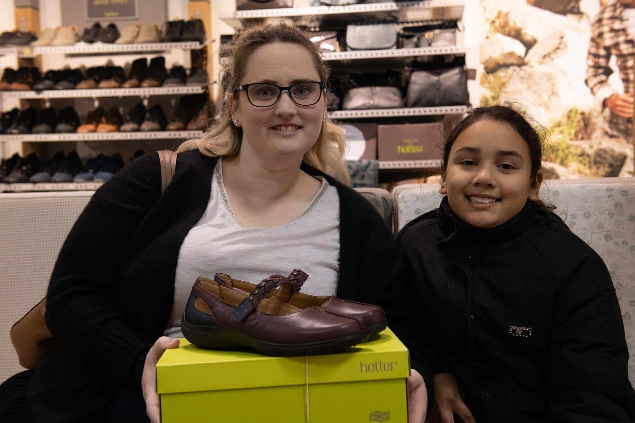 Hotter shoe shop at affinity lancashire