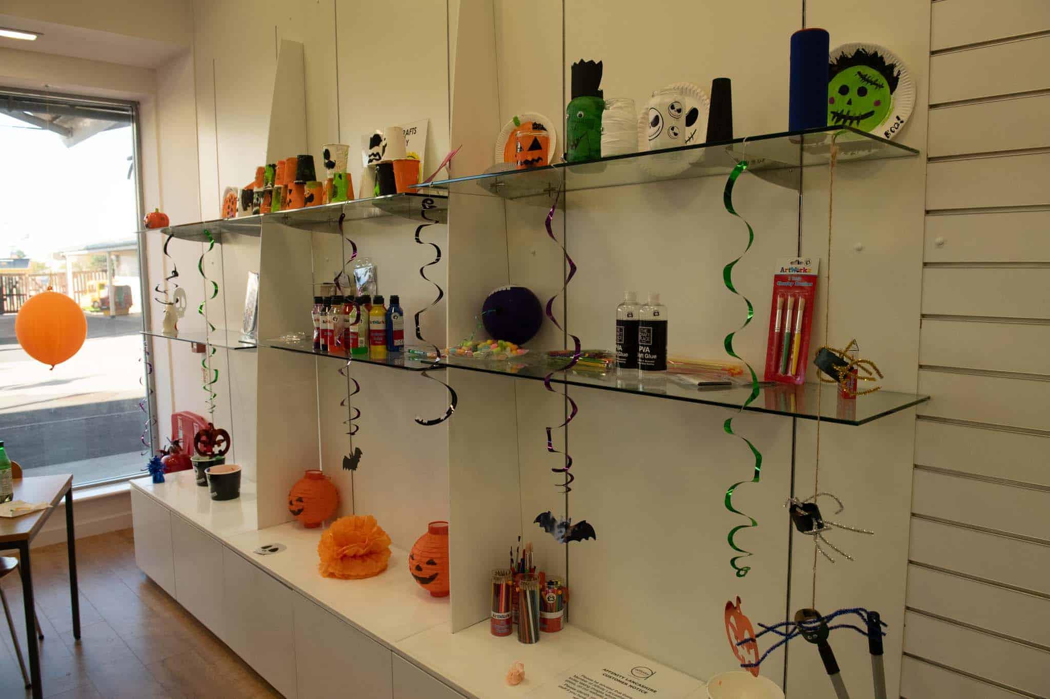 halloween crafts at affinity lancashire