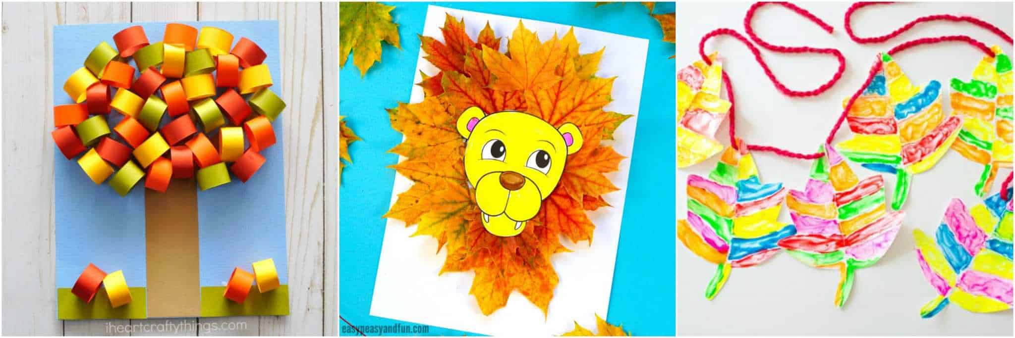 picture regarding Printable Fall Crafts titled 20 Pleasurable Tumble Crafts Children Will Get pleasure from · The Determination Edit