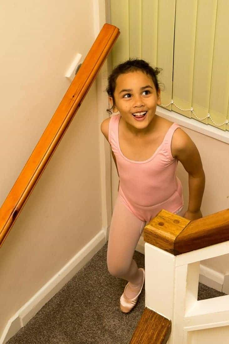 Is your child happy with his or her decision in taking ballet?