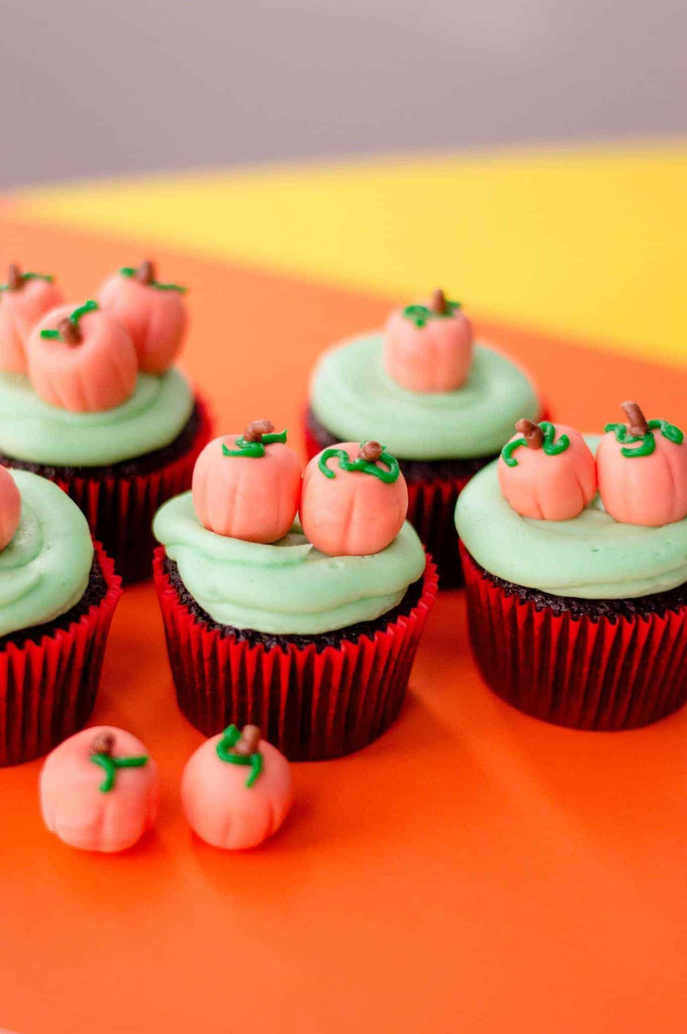 Pumpkin Cupcakes Perfect For October