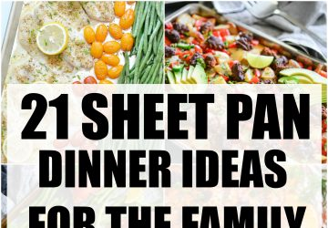 SHEET PAN DINNER RECIPES FOR THE FAMILY