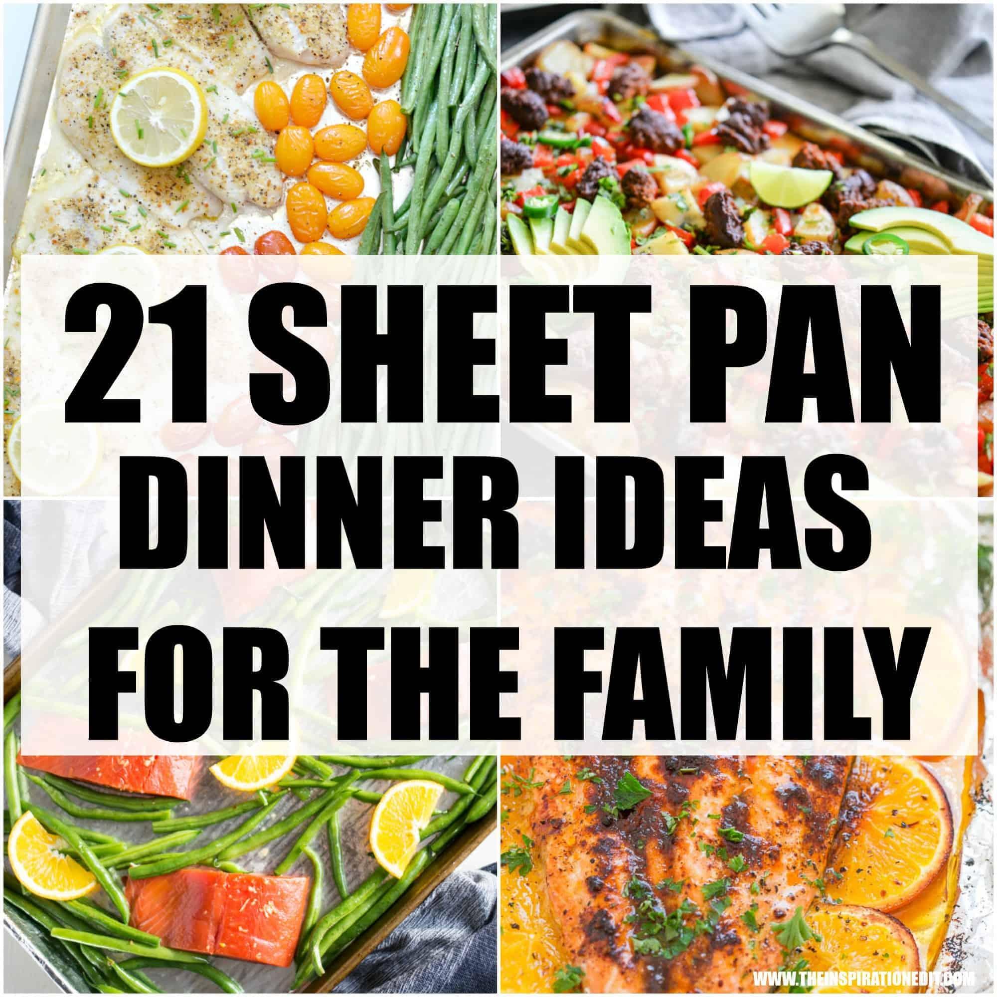 SHEET PAN DINNER RECIPES FOR THE FAMILY