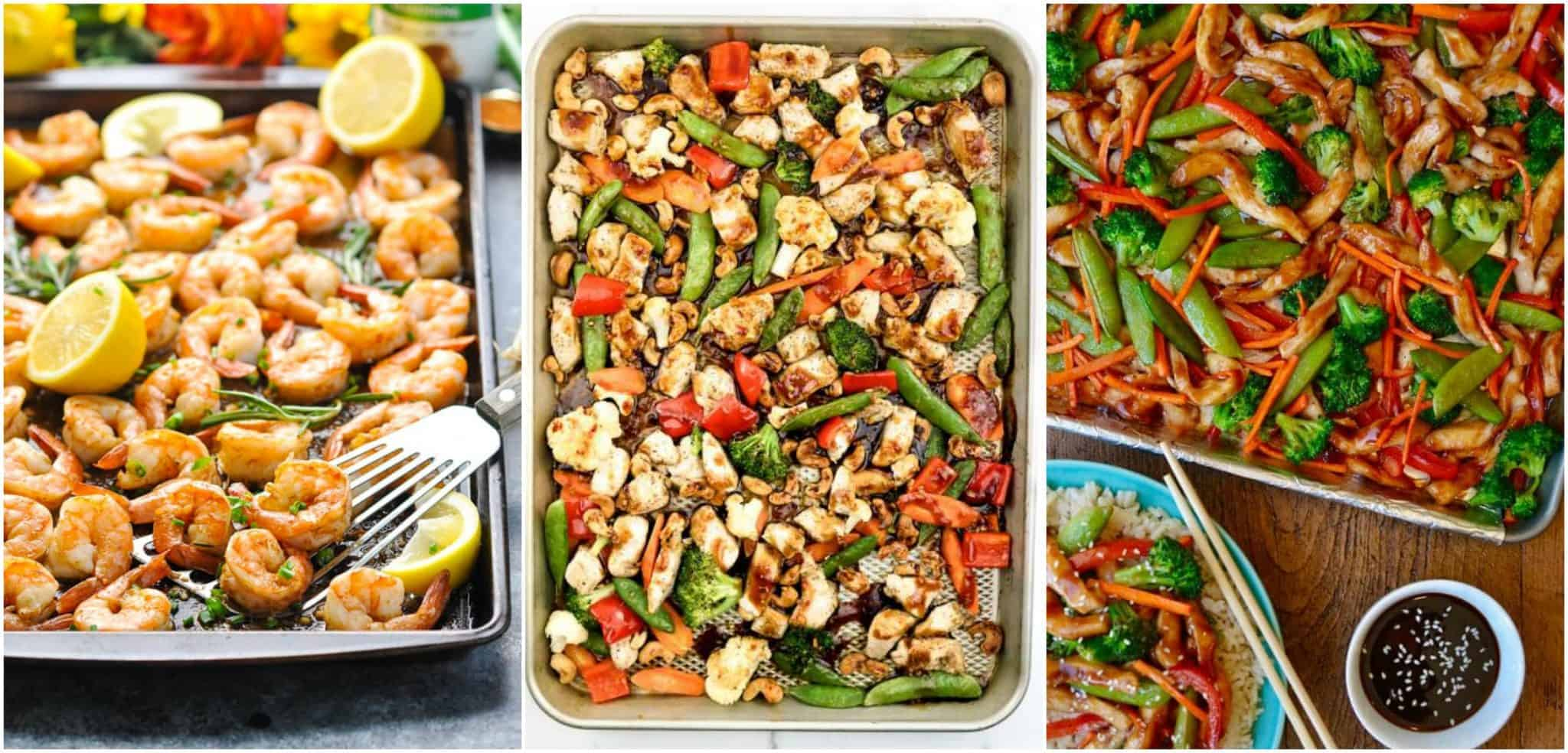 Sheet pan dinners recipes and ideas