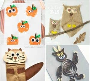 autumn and fall crafts for kids