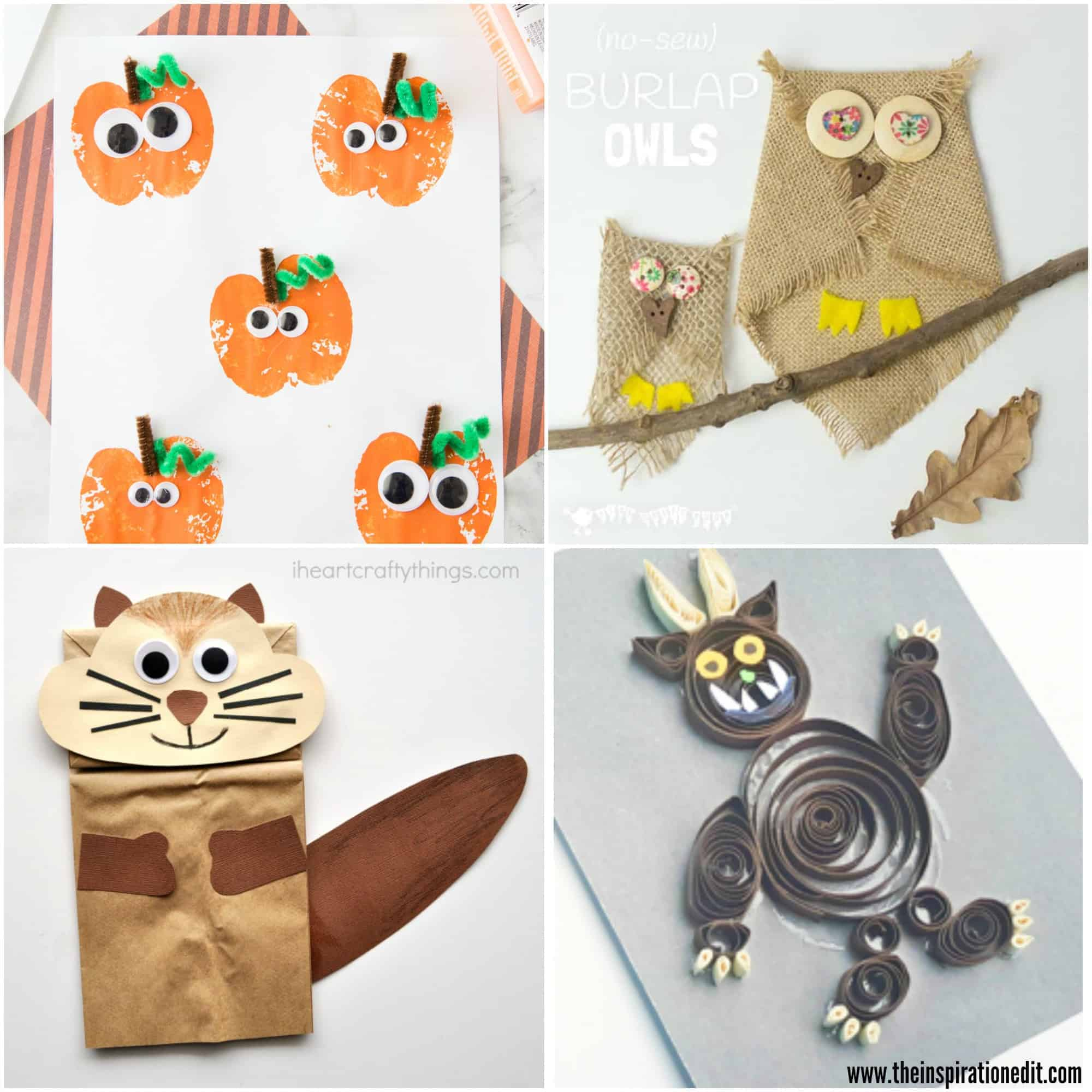 20 Fun Fall Crafts Kids Will Love The Inspiration Edit