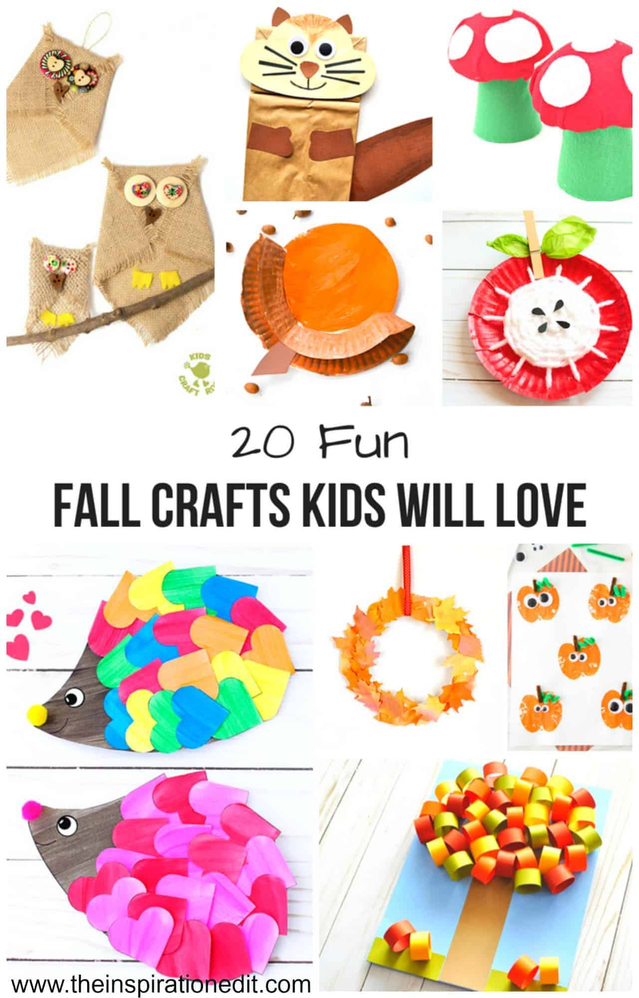 fun fall crafts pinterest pin