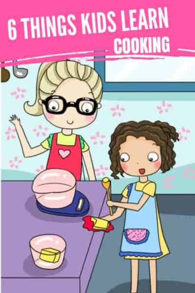 kids learn cooking