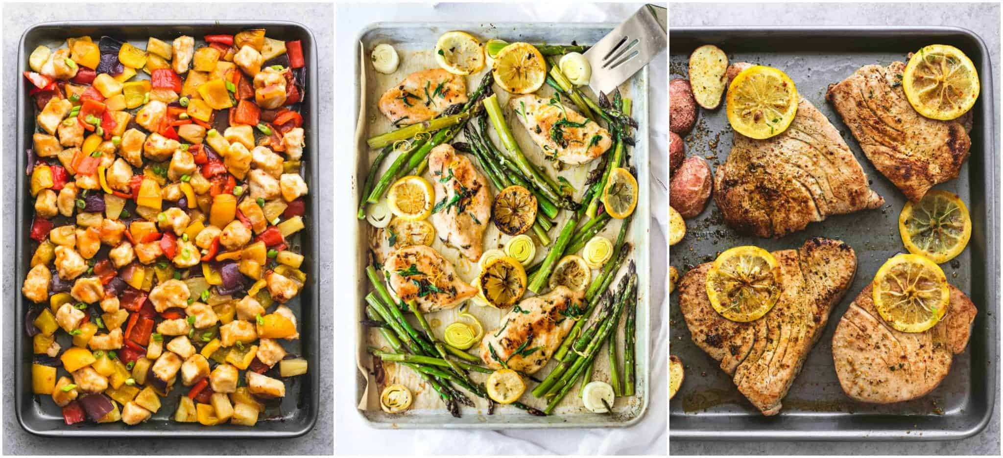 sheet pan dinners 2