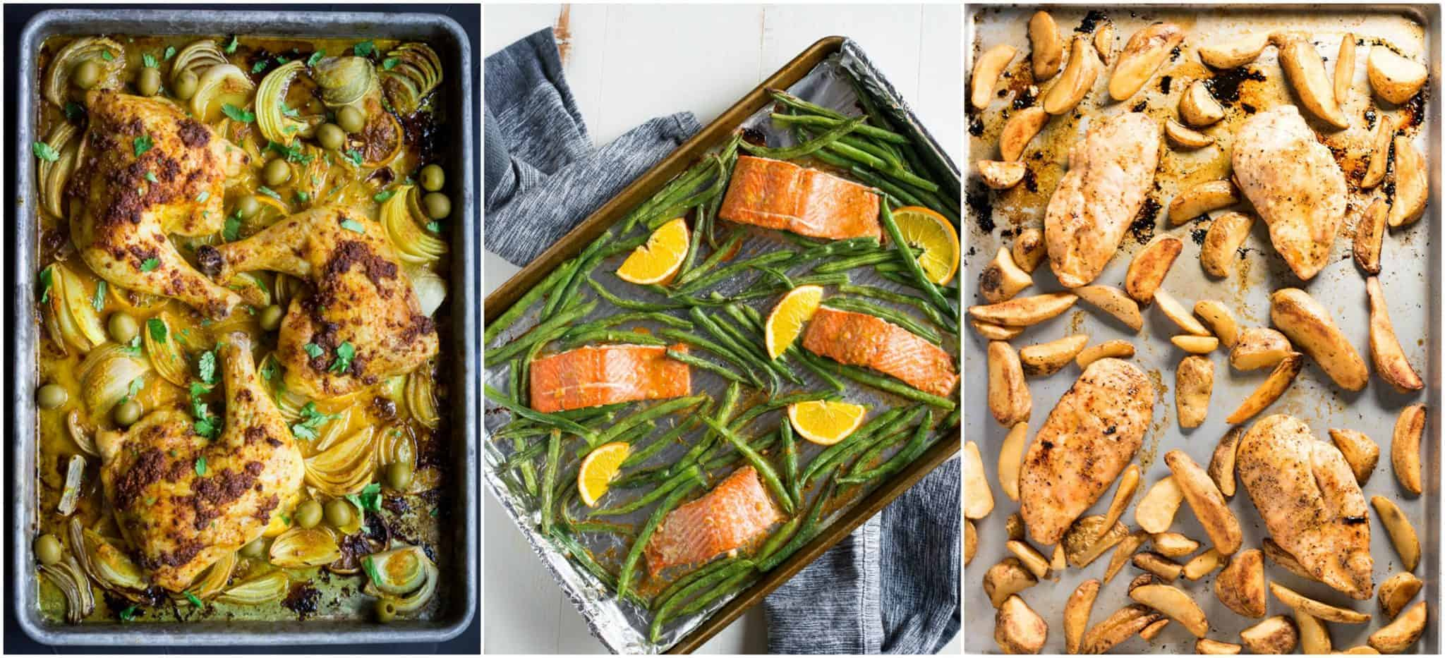 sheet pan dinners ideas and recipes