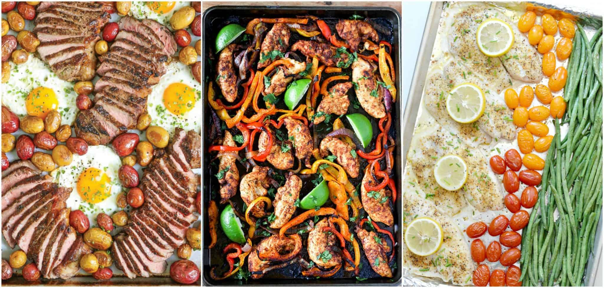 sheet pan dinners recipes