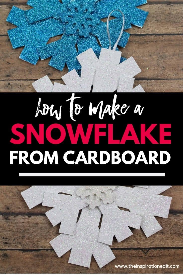 diy snowflake craft for kids