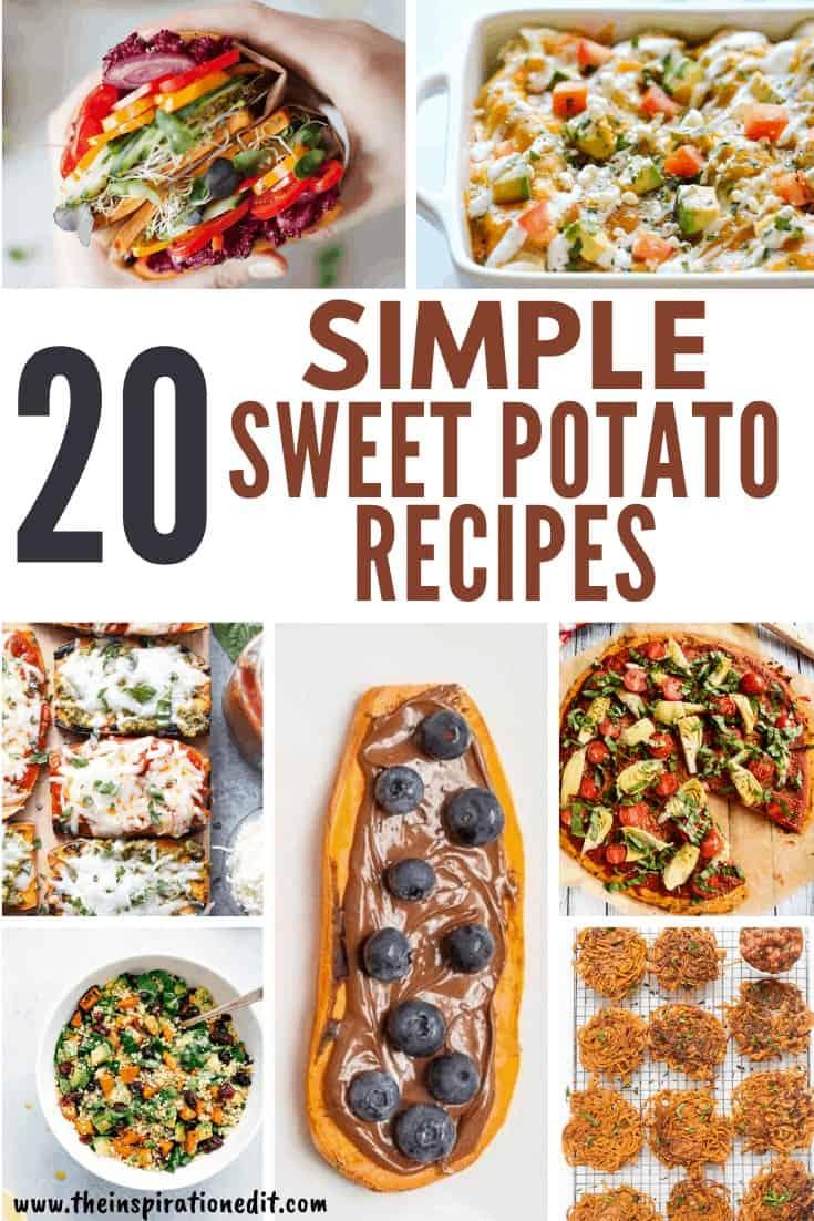 20 Simple Sweet Potato Recipes