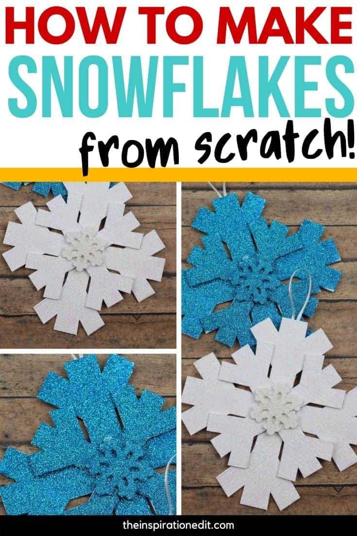 diy snowflake craft for kids
