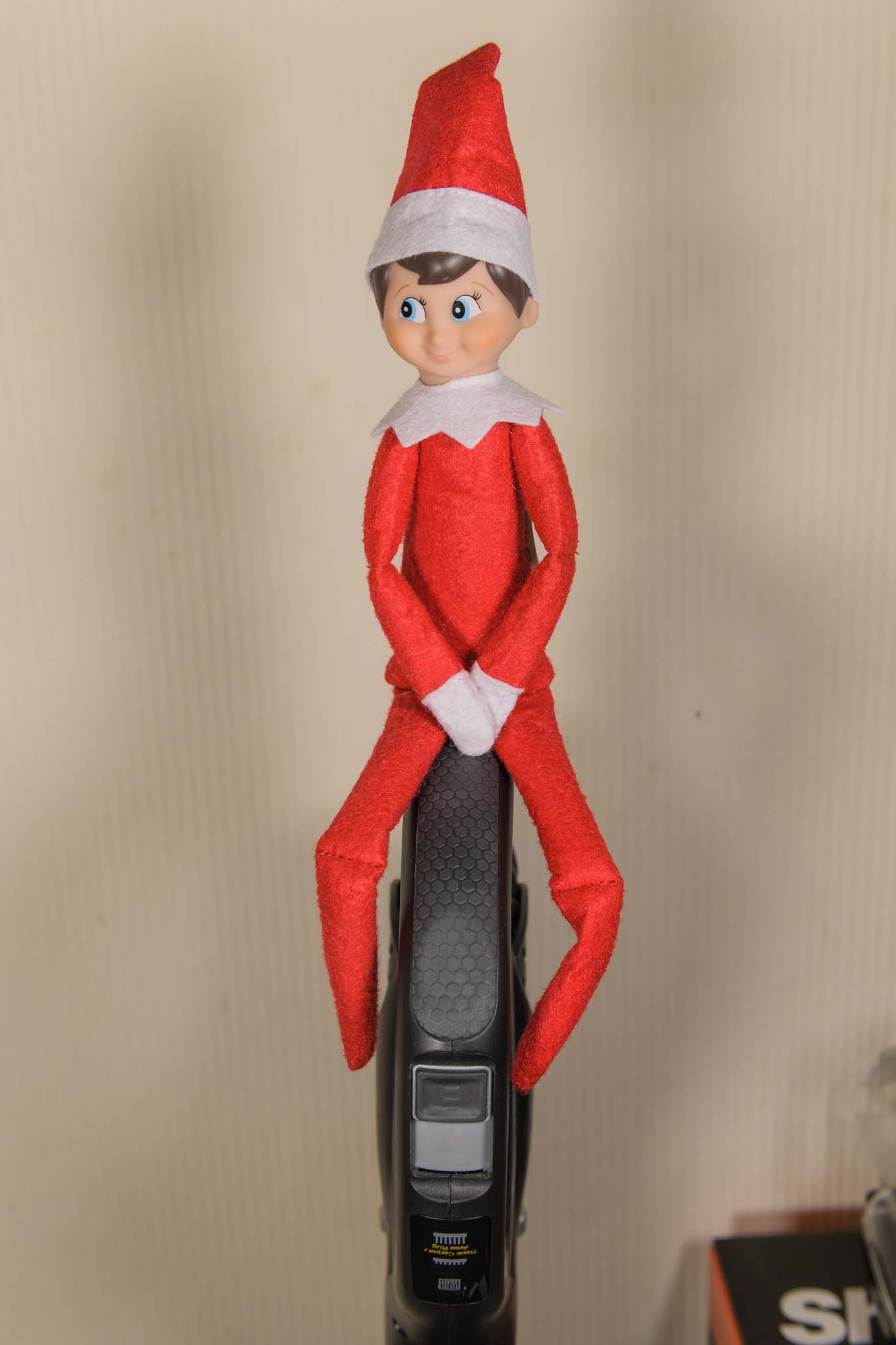 The Elf On The Shelf Is Cleaning
