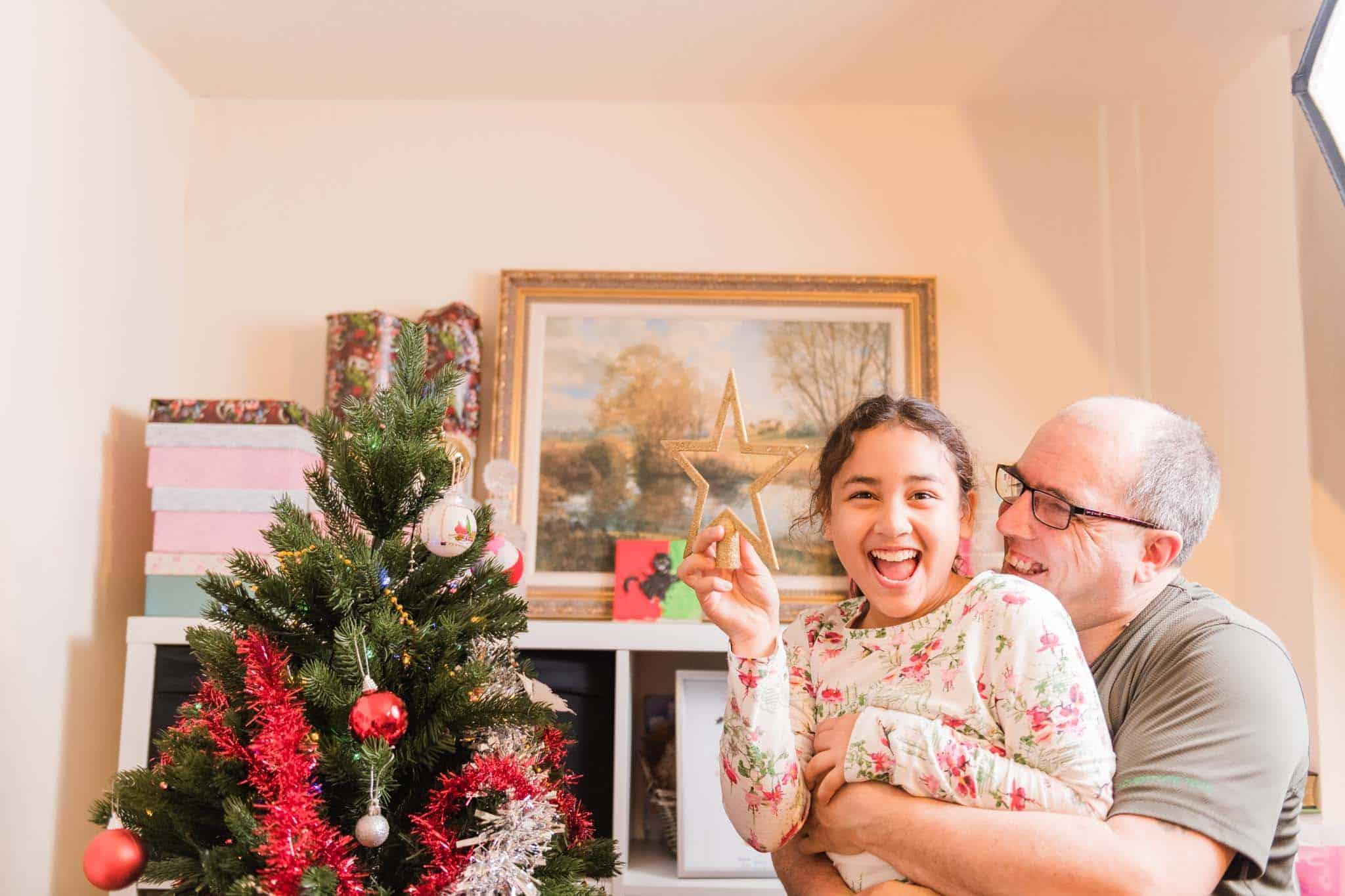 christmas tree t the festive season