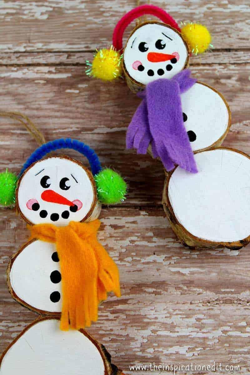 Snowman Ornament idea