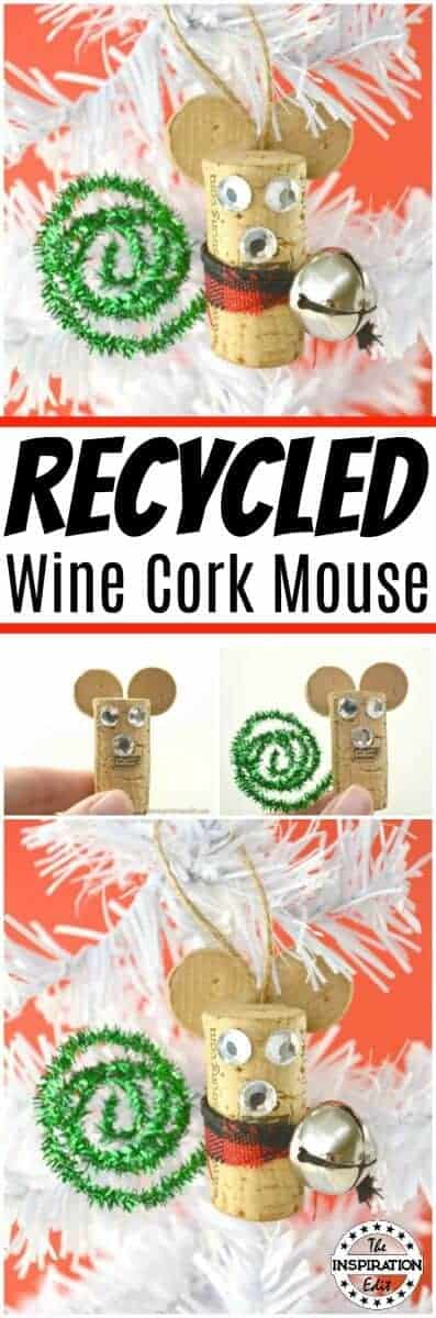 RECYCLED WINE CORK MOUSE