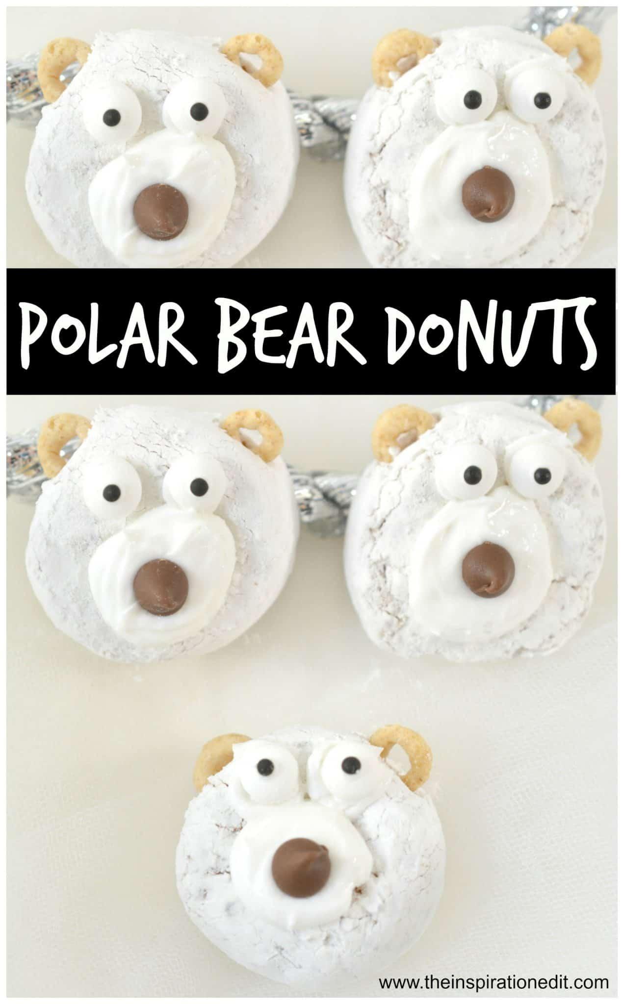 polar bear donuts