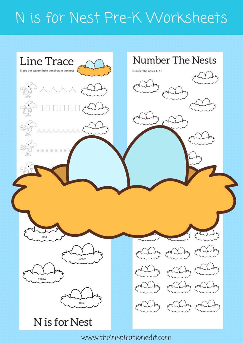 worksheets for preschool kids