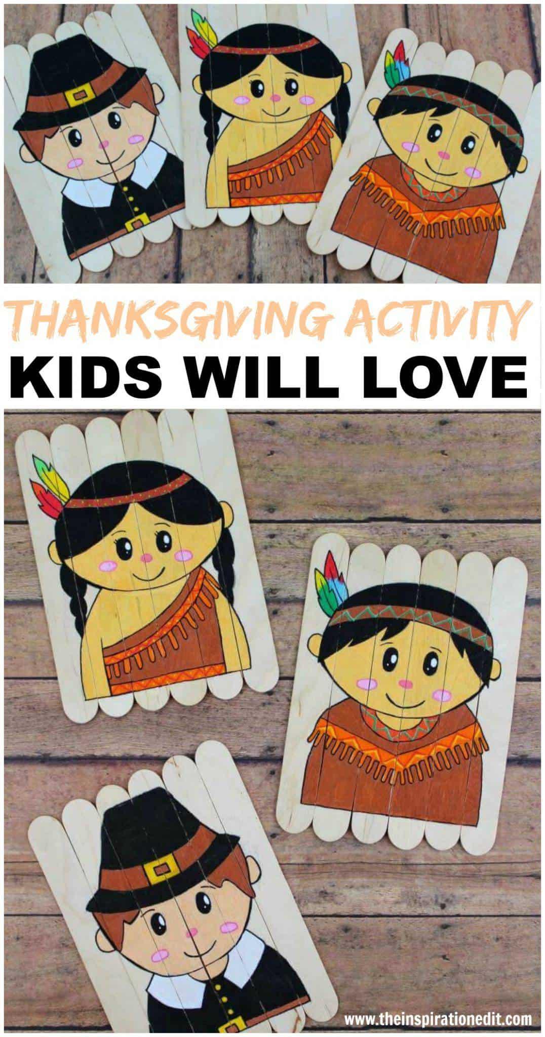 thanksgiving craft activity kids will love