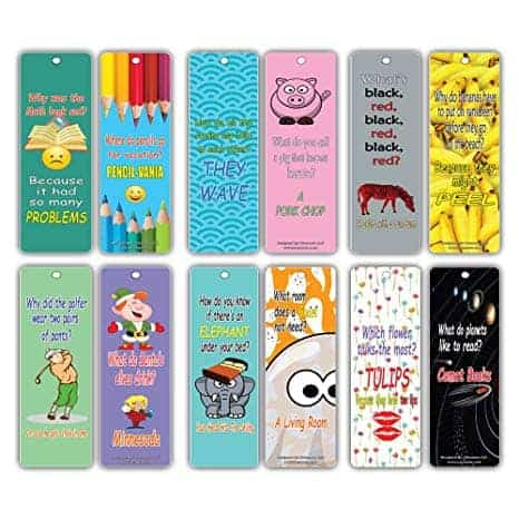 fun bookmarks for kids