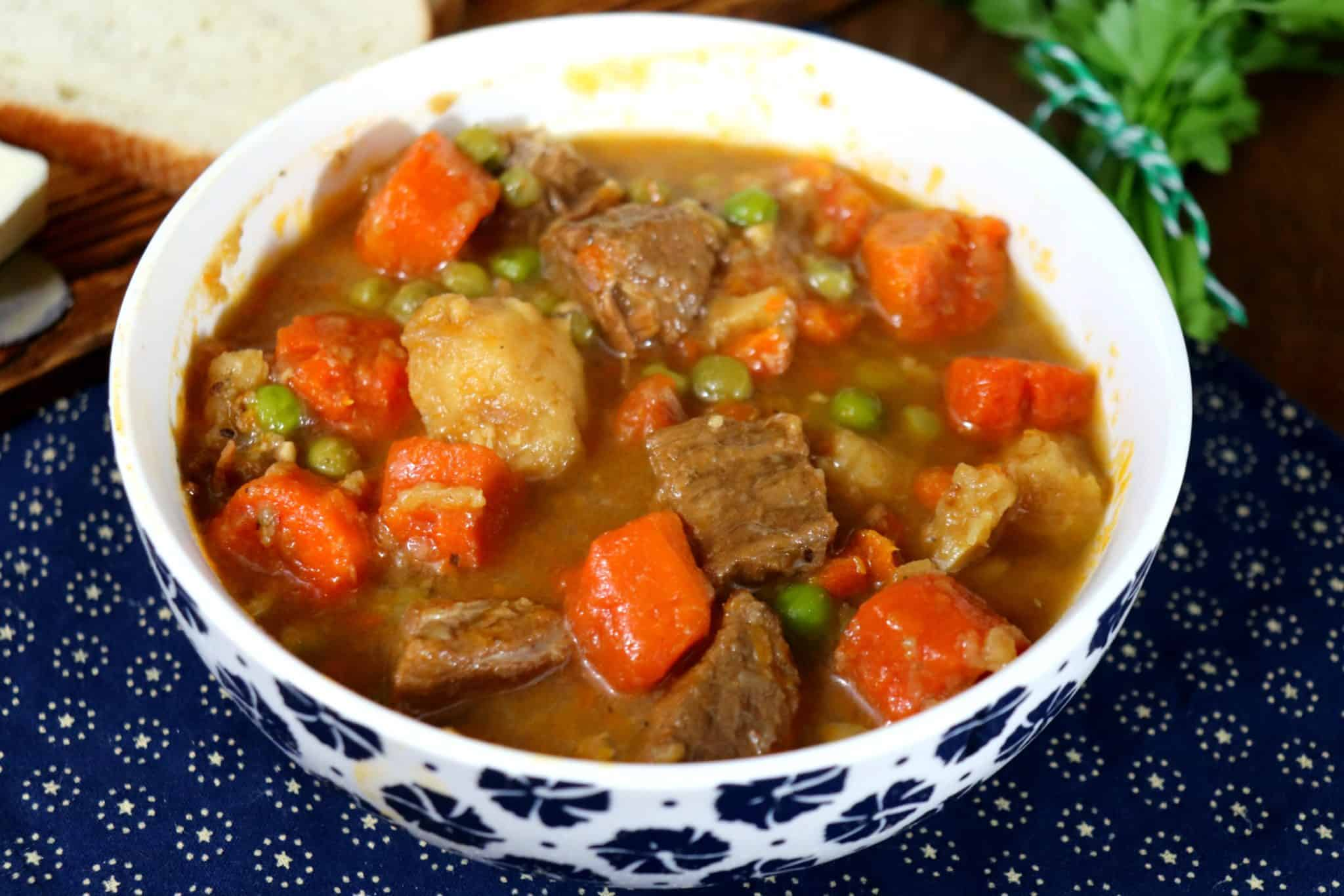 Weight Watchers Beef Stew In The Slow Cooker The