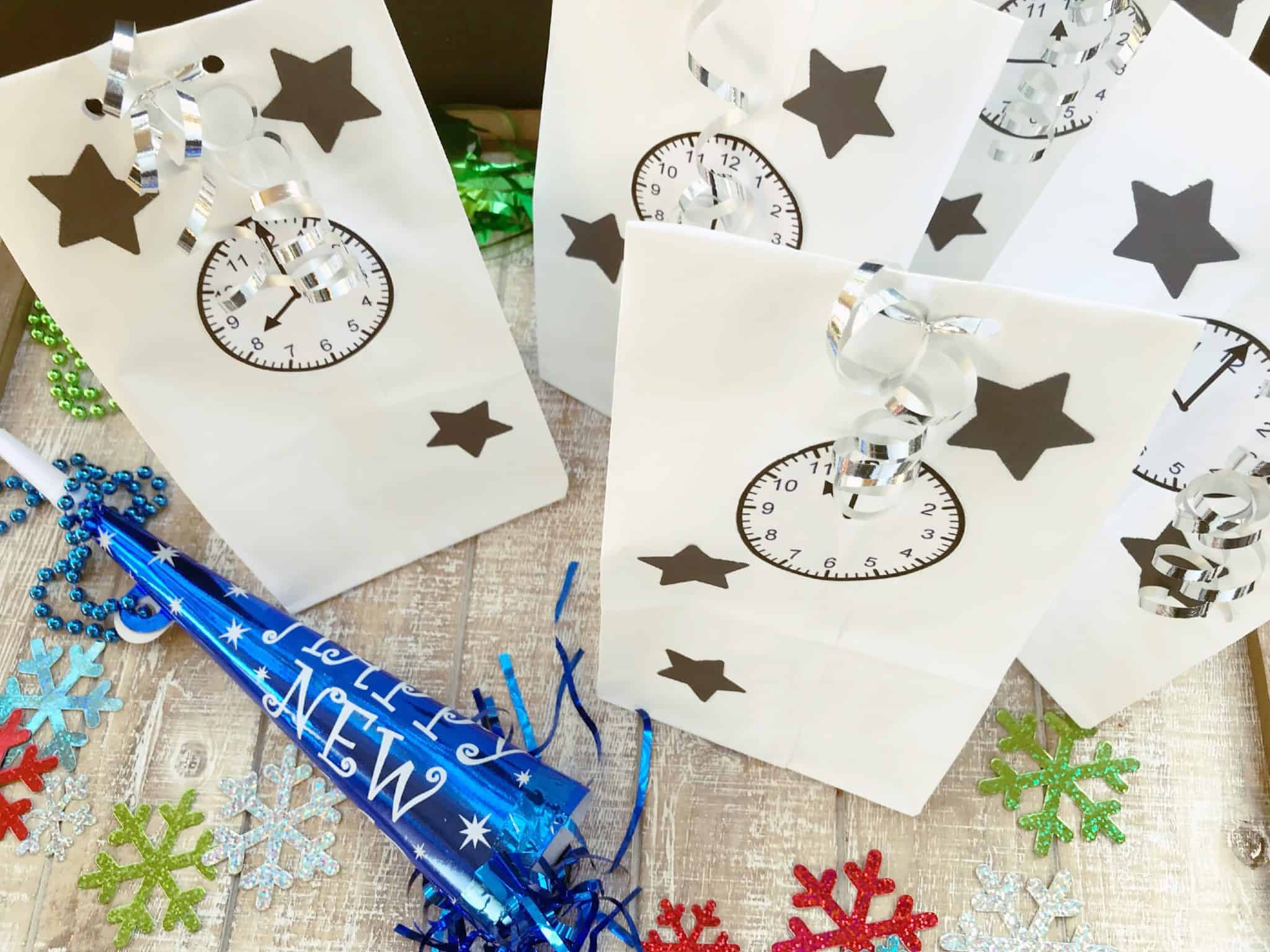 New Years Eve Party Ideas DIY Bag · The Inspiration Edit