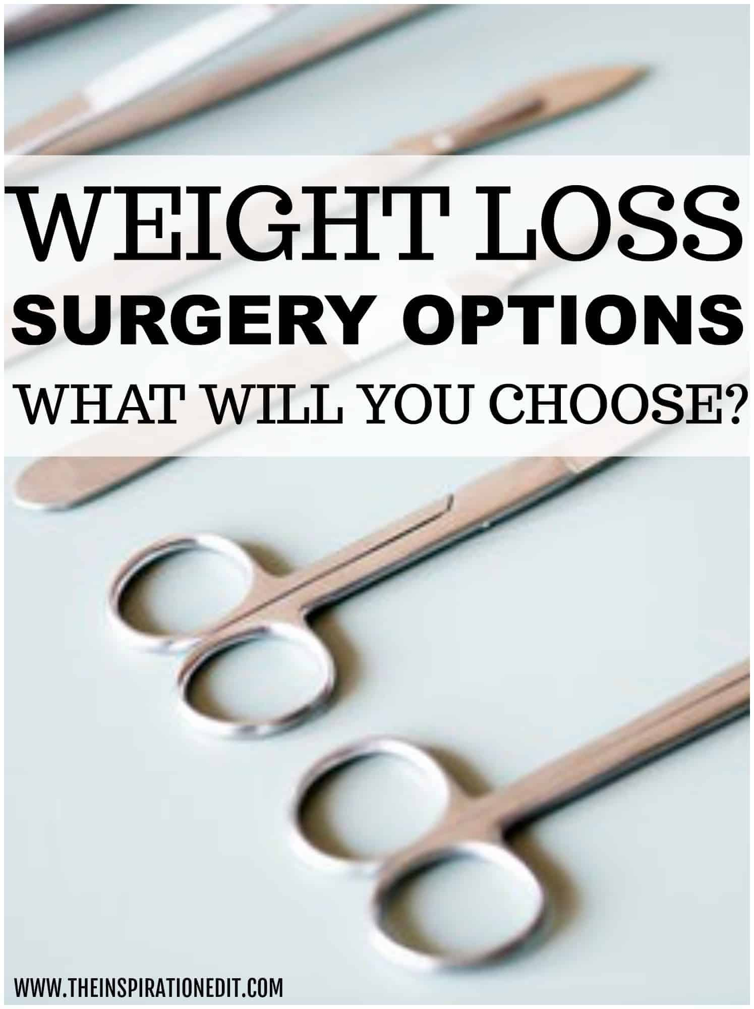 weight loss surgery options
