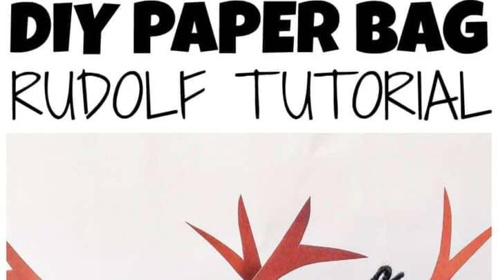 DIY Paper Reindeer Craft