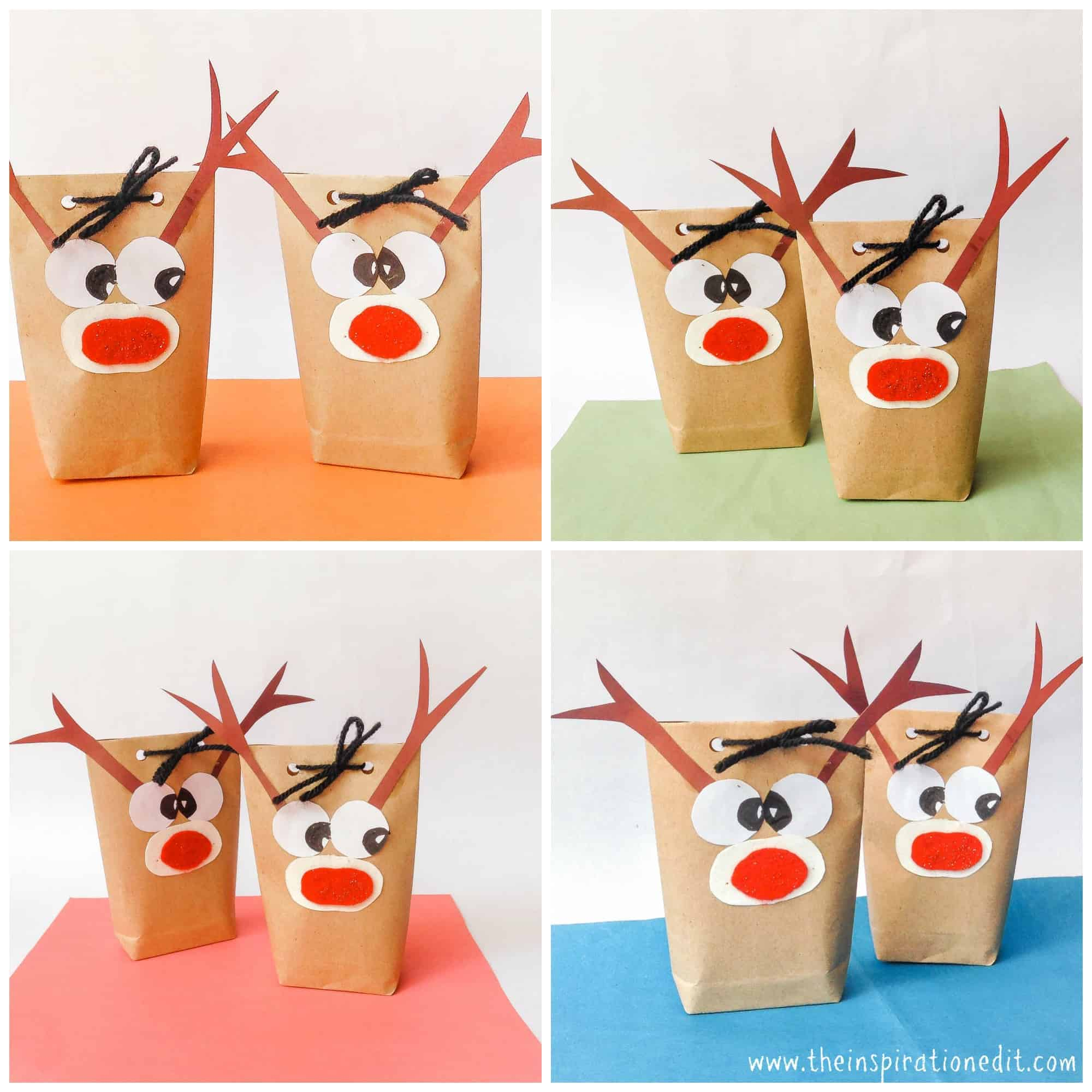 DIY Paper Reindeer Craft