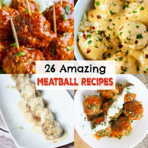amazing meatball recipes