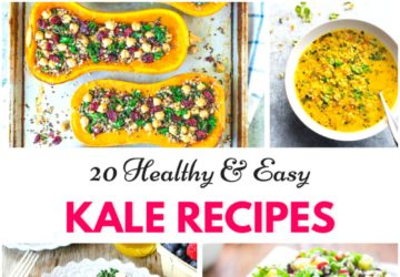 quick and easy kale recipes