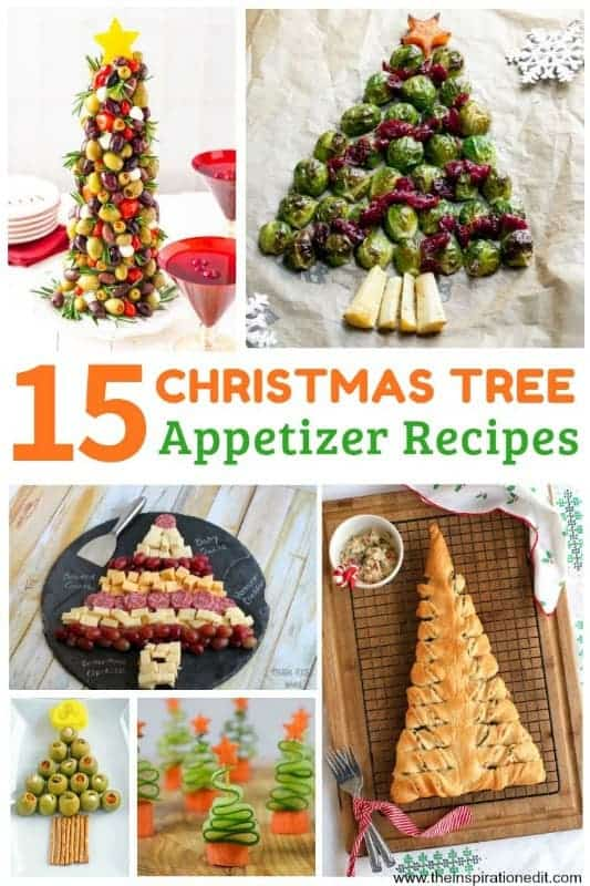 Christmas Tree Appetizer Recipes