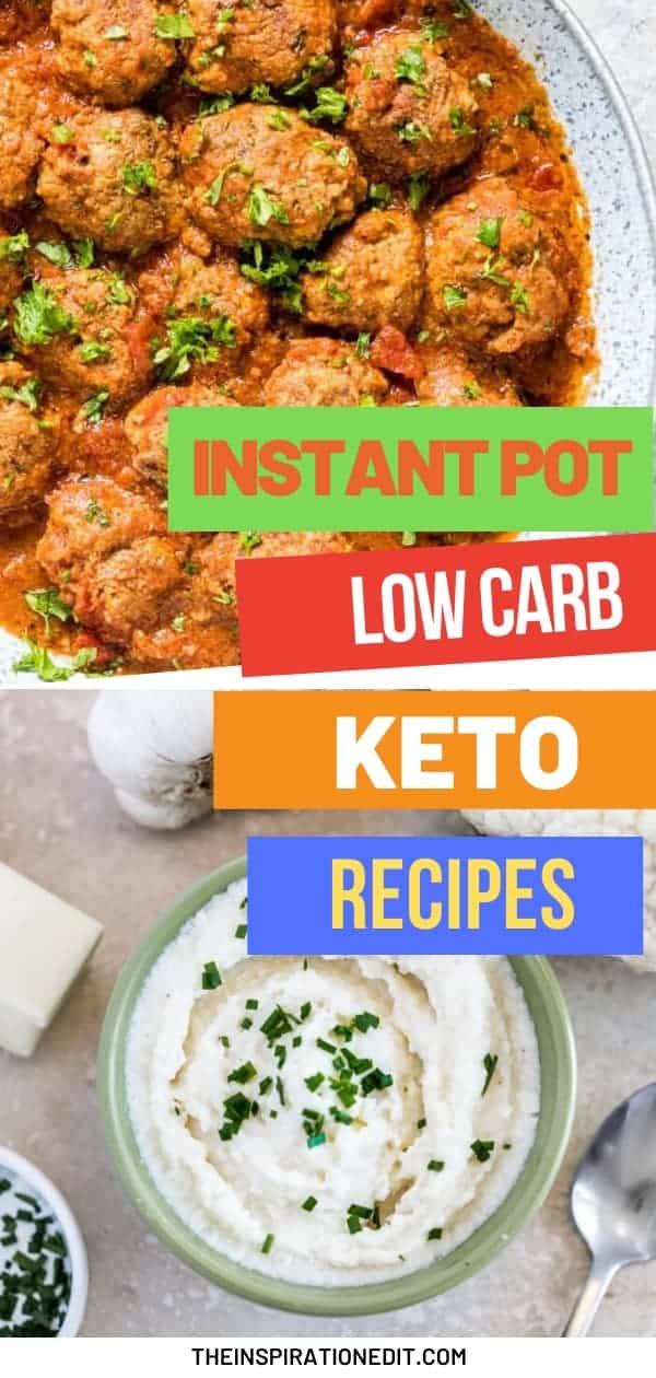 instant pot low carb keto recipes