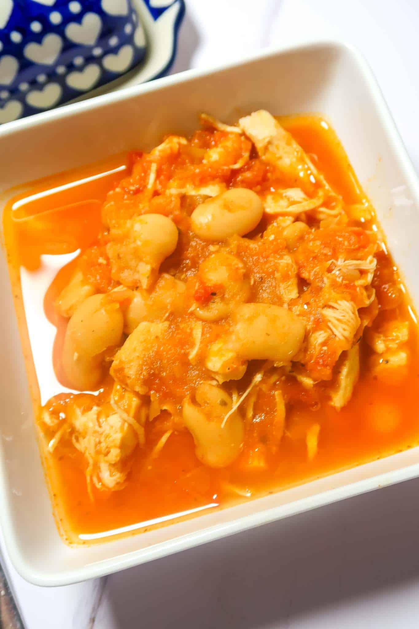 butter bean chicken soup