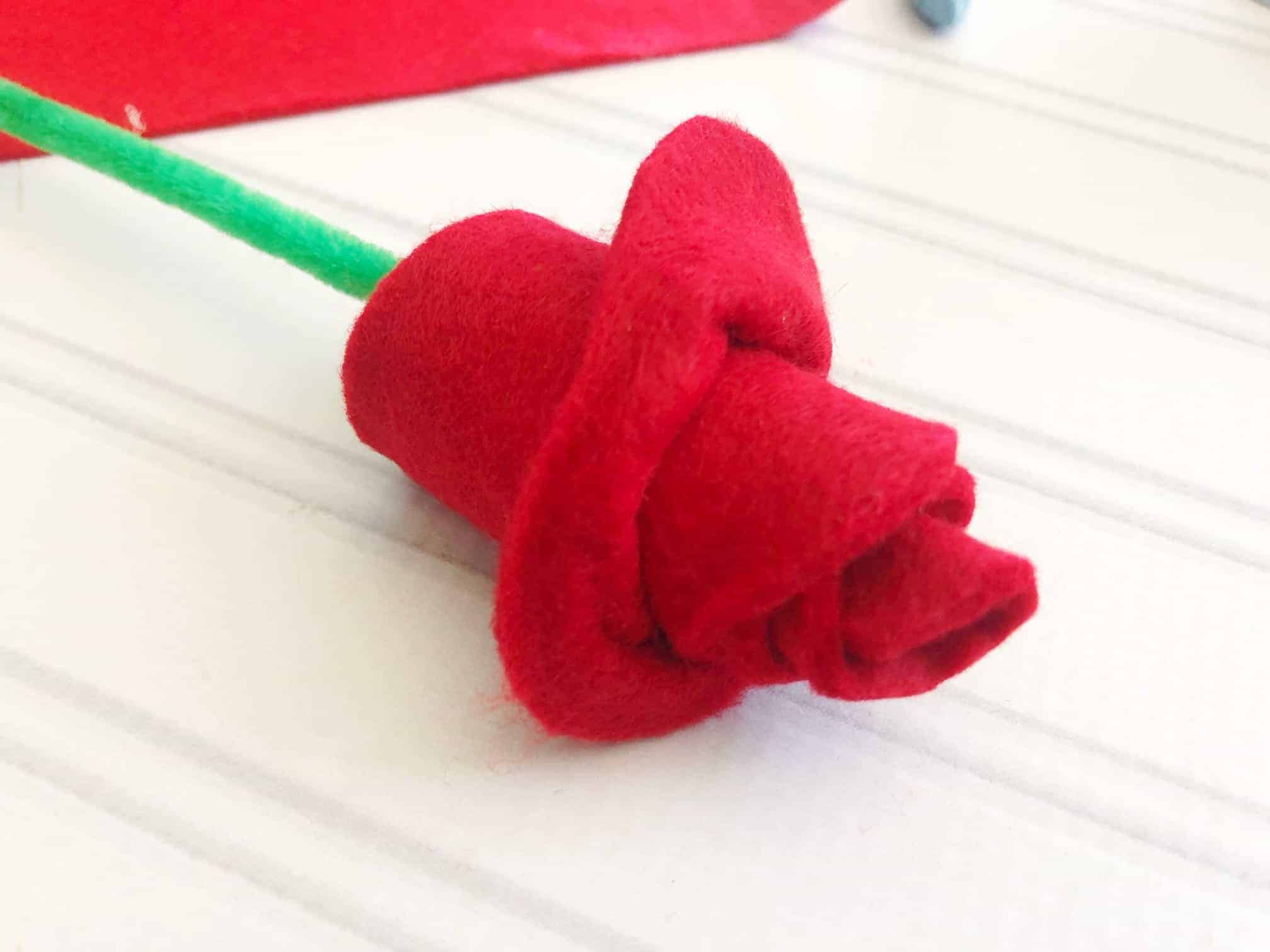 valentines roses craft
