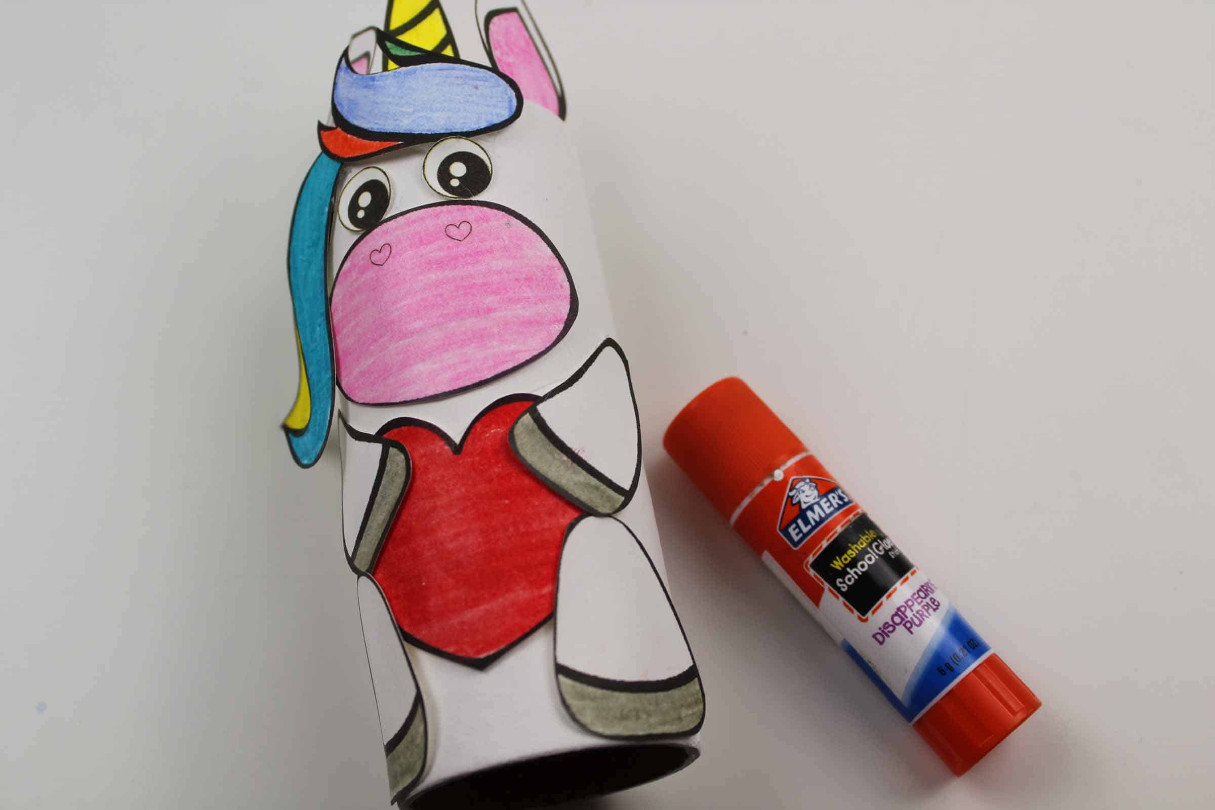 how to make a Toilet Tube Unicorn