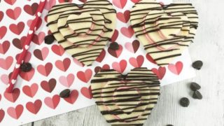 Stacked Heart Valentines Day Cookies