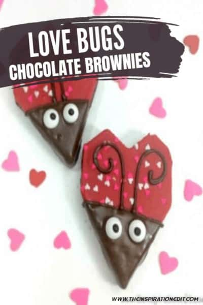 Love Bugs Fun Valentines Day Food Idea