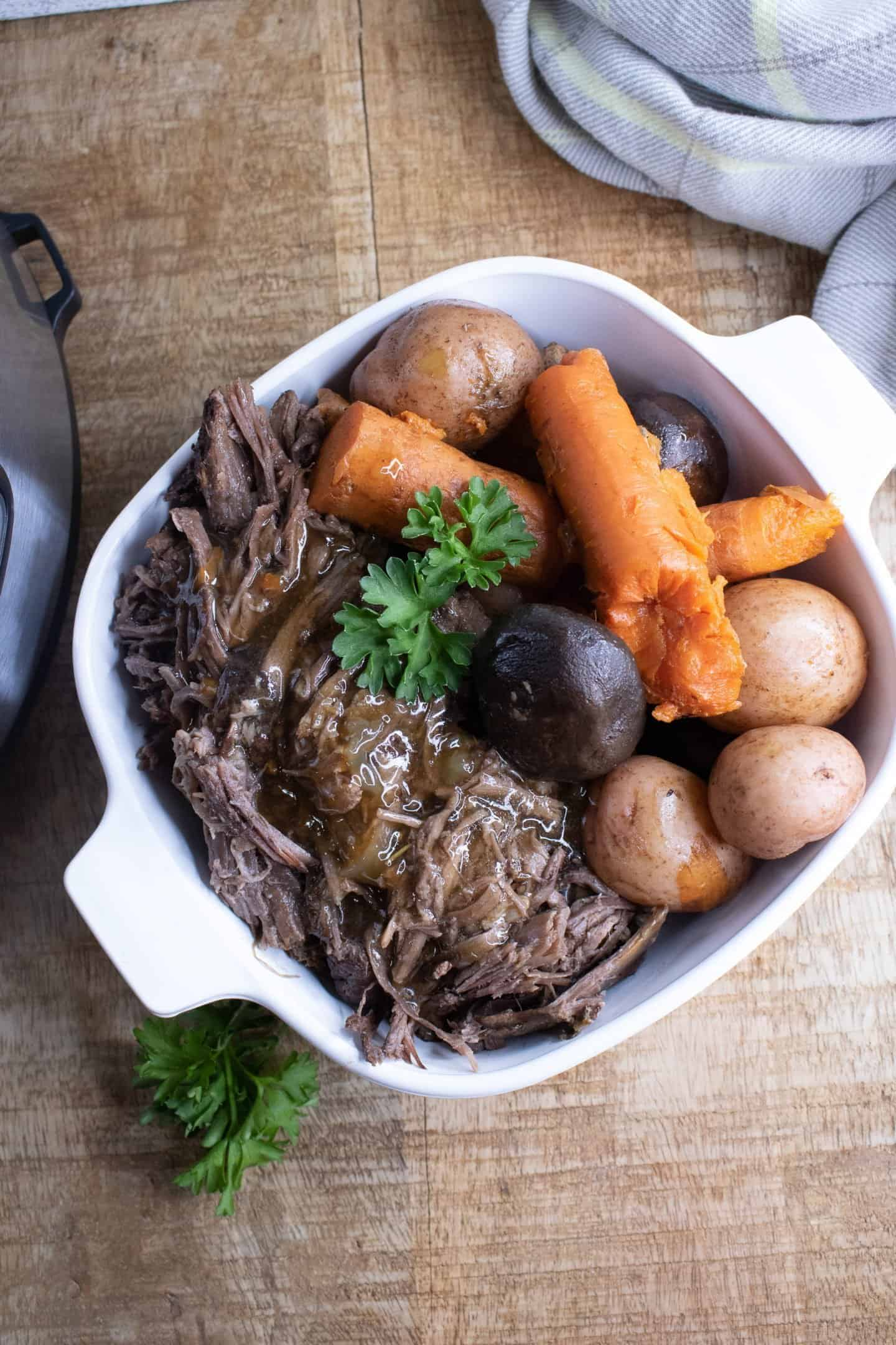 instant pot roast beef recipe