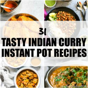 CURRY INSTANT POT RECIPES