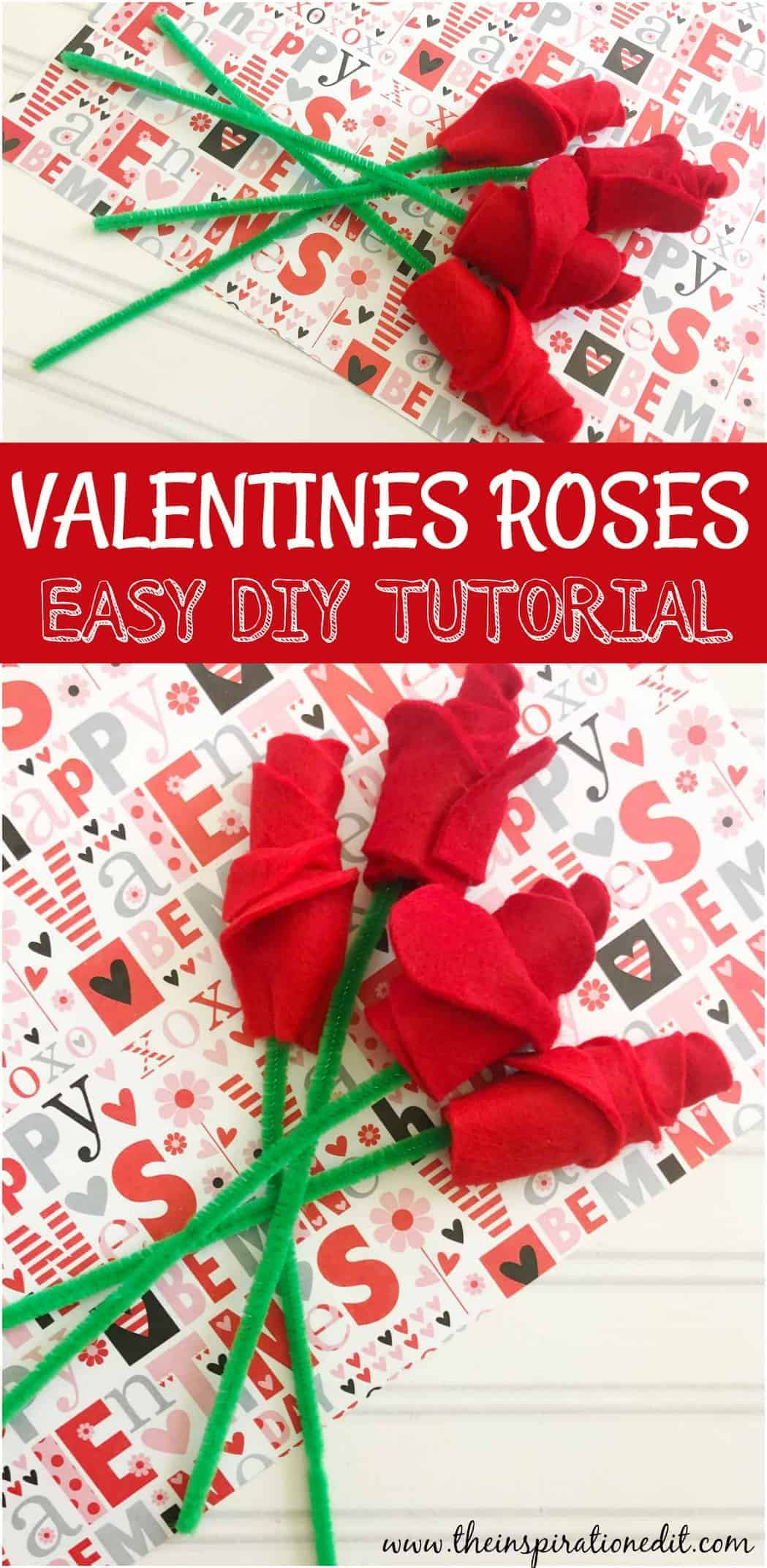 VALENTINES CRAFT roses