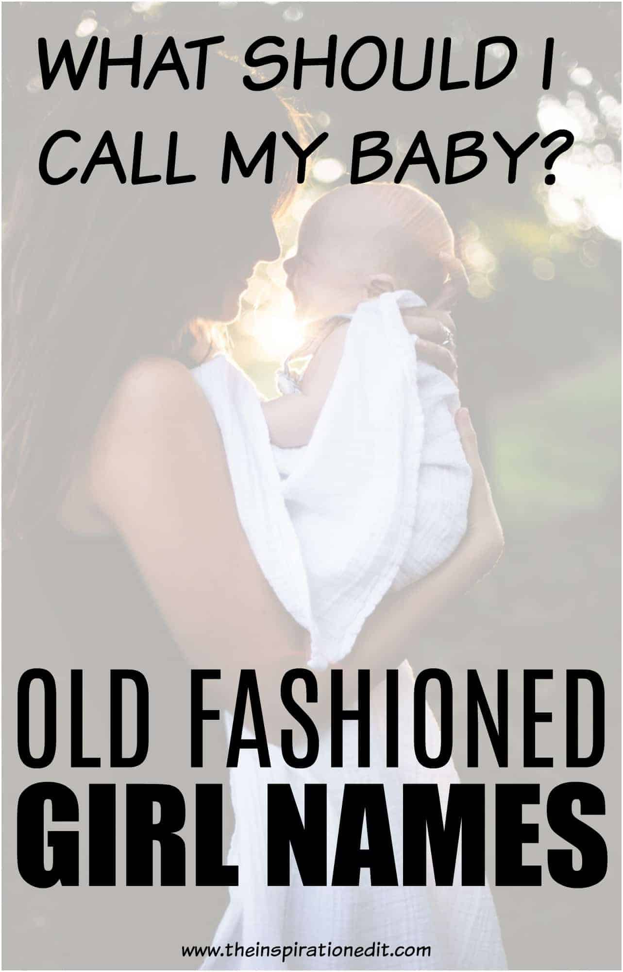 old fashioned girl names