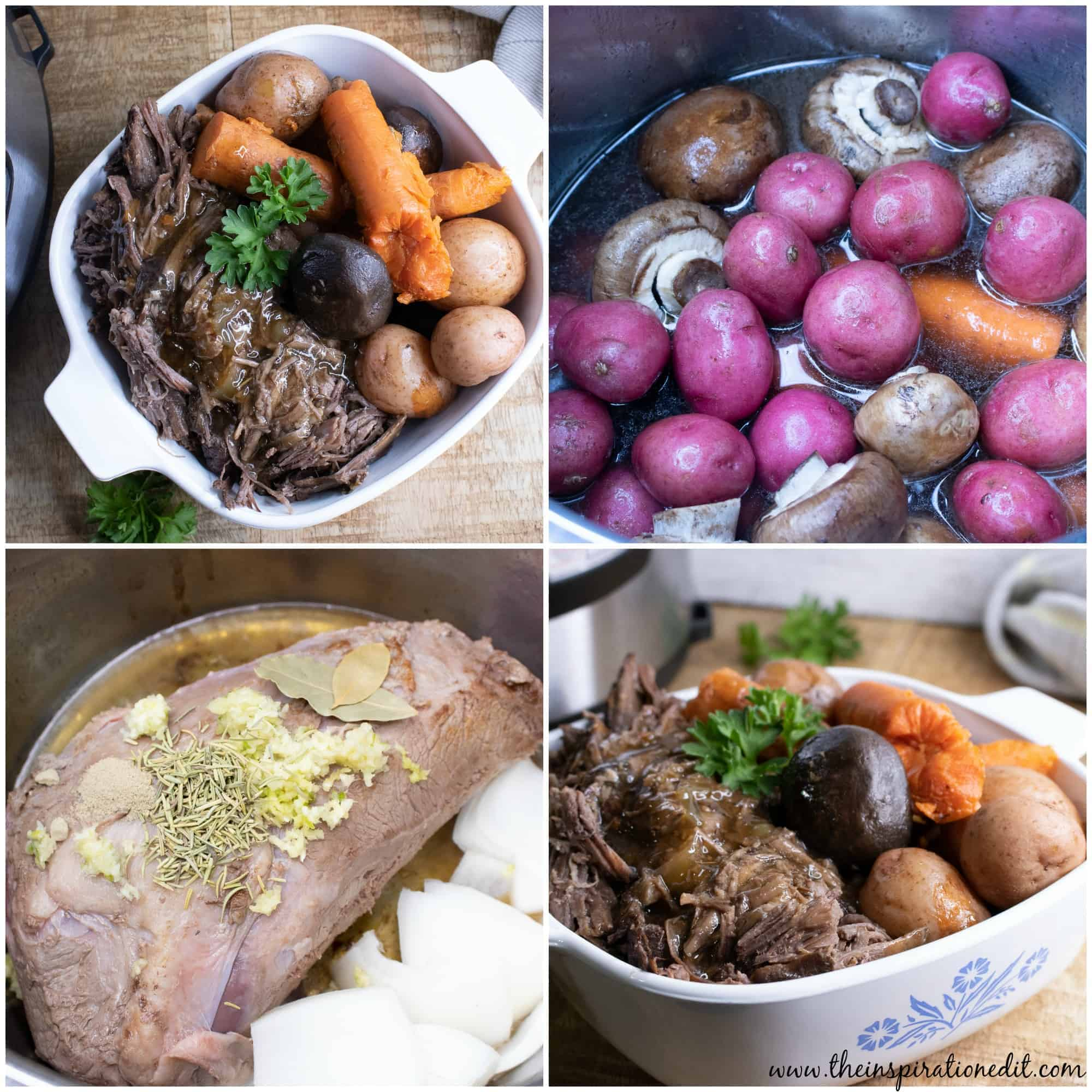 This delicious and easy instant pot pot roast recipe is full of flavor with potatoes and carrots.