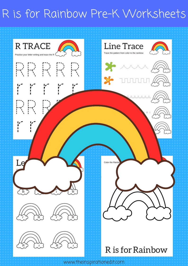r is for rainbow preschool printables the inspiration edit
