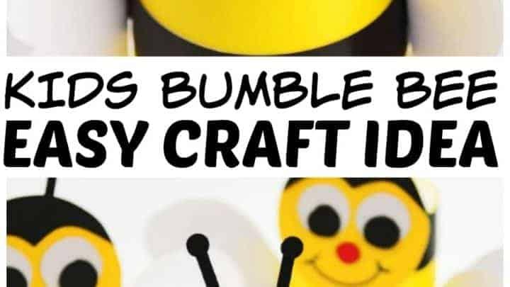 bumble bee craft