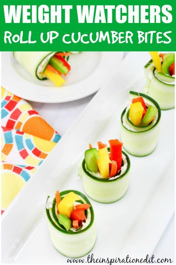 weight watchers cucumber bite bites
